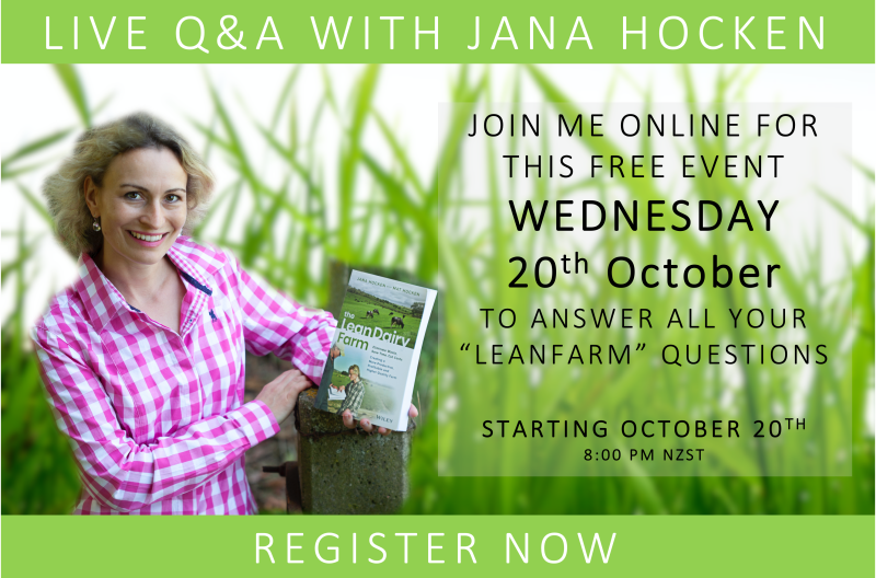 Free Event Wednesday 20th Auguust - answer leanfarm questions