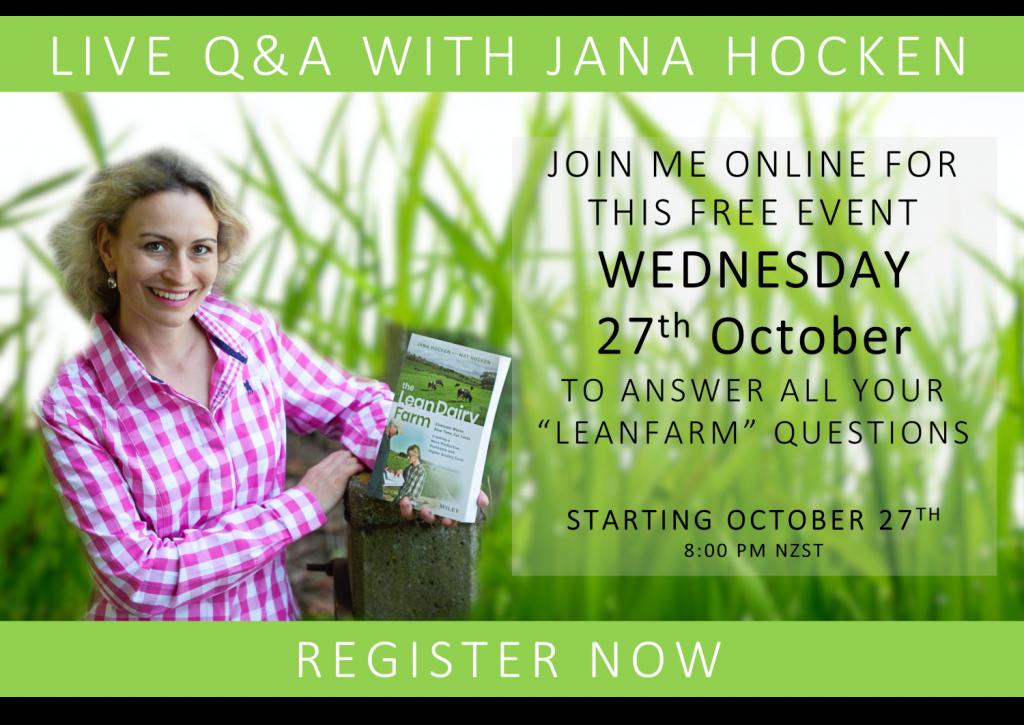 Q&A with Jana